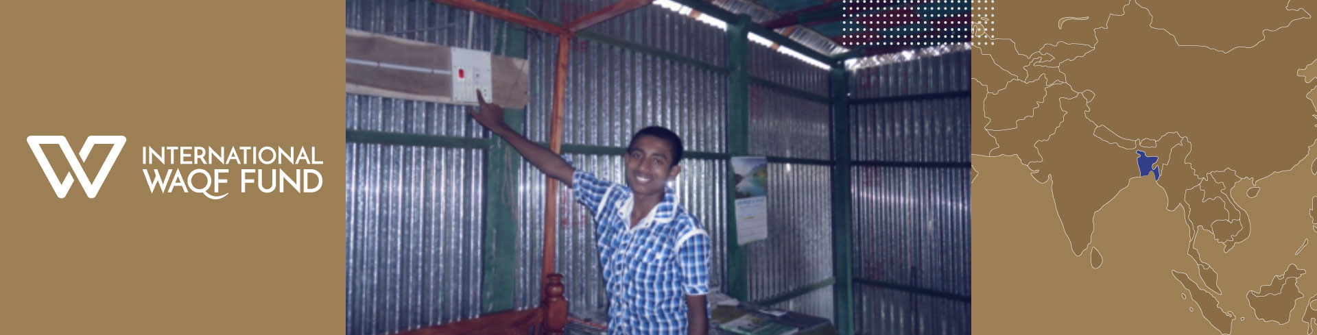 Solar powered homes for orphans in Bangladesh
