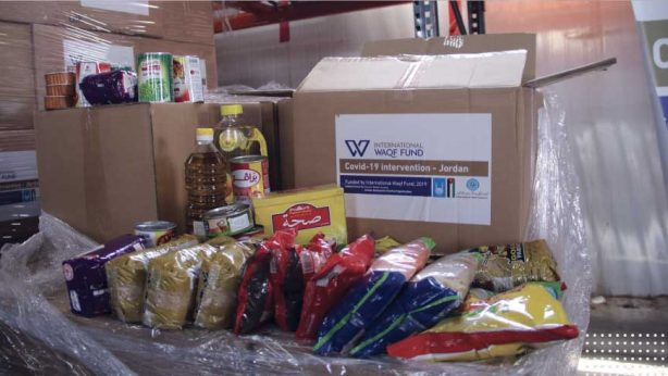 Supporting vulnerable Jordanians with food packs during COVID-19