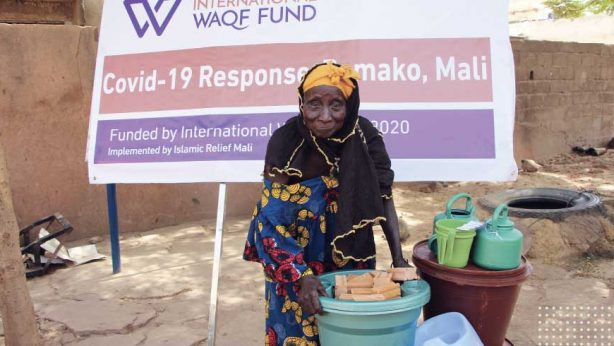 Disease prevention WASH kits for vulnerable people in Mali