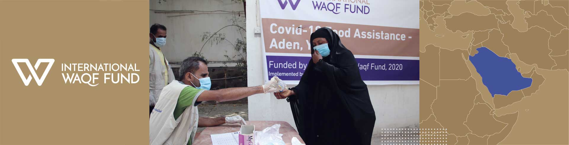Providing families with life-saving food assistance during the Covid-19 pandemic