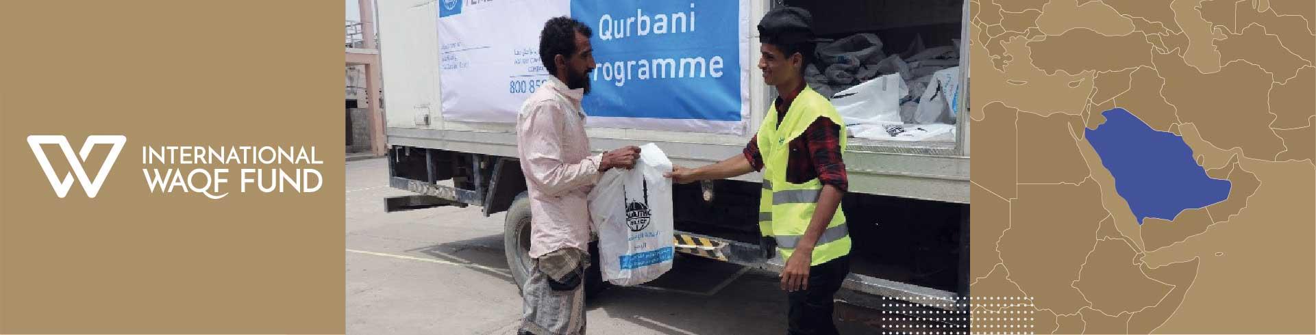 Helping families in Yemen celebrate Eid